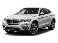This 2016 BMW X6 xDrive35i is a One Owner vehicle with