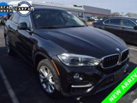 CARFAX One Owner 2016 BMW X6 xDrive35i in Black