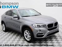 Introducing the 2016 BMW X6! Luxury redefined! The