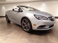 This 2016 Buick Cascada is featured in Silver with a