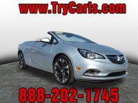 2016 Buick Cascada Premium with Leather Seats, Power