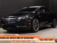 2016 Buick Cascada Premium in Black. Driver Confidence