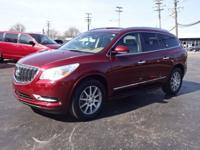 2016 Enclave Leather Group Clean CARFAX **Bluetooth