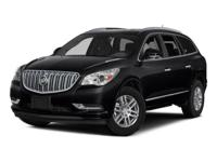 2016 Black Buick Enclave Leather Group 6-Speed