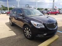 Certified. Dark Chocolate Metallic 2016 Buick Enclave