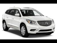 BEAUTIFUL 2016 WHITE BUICK ENCLAVE WITH A SMOOTH RIDING