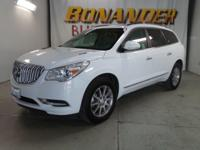 Come see this 2016 Buick Enclave Leather. Its Automatic
