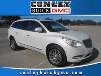 Options:  2016 Buick Enclave Leather|Conley Buick Gmc