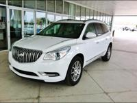 2016 Buick Enclave Luxury SUV......Summit White