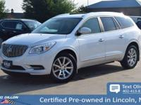 This Buick Enclave has a strong Gas V6 3.6L/217 engine