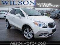 CARFAX One-Owner. Clean CARFAX. White 2016 Buick Encore