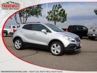 Options:  2016 Buick Encore Quicksilver|Ebony|Save At