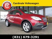 CARFAX One-Owner. Red 2016 Buick Encore FWD 6-Speed