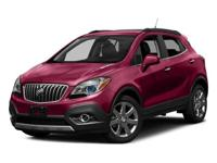 Certified. Carbon Black Metallic 2016 Buick Encore FWD