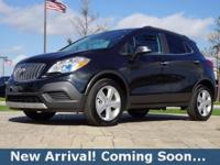 2016 Buick Encore SUV in Carbon Black Metallic, This