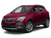 Introducing the 2016 Buick Encore! This SUV lines up