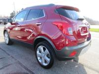 Options:  2016 Buick Encore Convenience|Winterberry Red