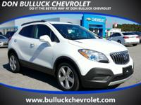 COME TAKE A LOOK AT THIS NICE SUMMIT WHITE BUICK ENCORE