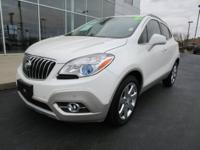Recent Arrival! 2016 Buick Encore Premium Summit White