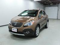 Options:  2016 Buick Encore Leather|Awd! Turbocharged!