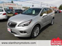 This 2016 Buick Envision has a 2.0 liter 4 Cylinder