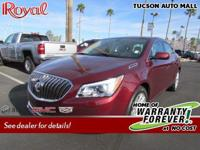 LOW MILES, This 2016 Buick LaCrosse Base will sell fast