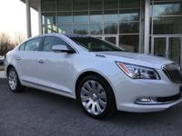 2016 Buick LaCrosse Automatic 6-Speed   CARFAX 1 owner
