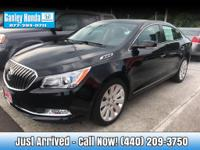 2016 Buick LaCrosse Leather  &  AWD CLEAN CARFAX ONE