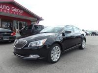Options:  2016 Buick Lacrosse Presented In Ebony