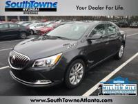 Black 2016 Buick LaCrosse Leather Group FWD 6-Speed