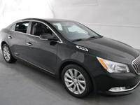 2016 Buick LaCrosse Leather Group Black FWD 3.6L V6 E85