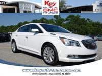 Clean CARFAX. Certified. Summit White 2016 Buick