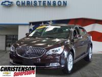 2016 Buick LaCrosse Leather Group In Dark Chocolate