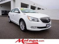 2016 Buick LaCrosse Leather Group in Summit White with
