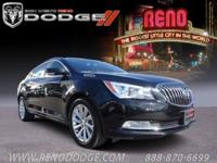 Options:  2016 Buick Lacrosse Leather|Black/|V6 3.6L