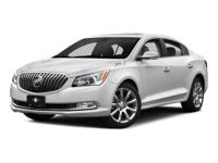 PREMIUM & KEY FEATURES ON THIS 2016 Buick LaCrosse