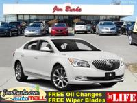 This 2016 Buick LaCrosse Leather is a 100% Carfax
