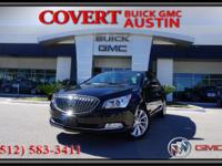 2016 Buick LaCrosse four door sedan with excellent
