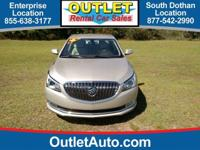 Check out this gently-used 2016 Buick LaCrosse we
