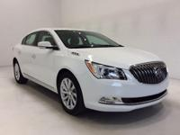 Options:  2016 Buick Lacrosse Leather