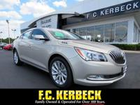 This Buick LaCrosse is Certified Preowned! CARFAX