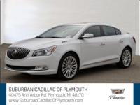 CARFAX One-Owner. Clean CARFAX. Summit White 2016 Buick