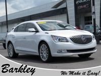 CARFAX One-Owner. Clean CARFAX. White Frost 2016 Buick