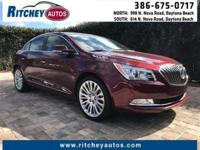 CERTIFIED PRE-OWNED 2016 BUICK LaCROSSE PREMIUM II**LOW