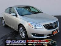 CARFAX One-Owner. Clean CARFAX. Tan 2016 Buick Regal