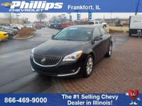 New Price! Black 2016 Buick Regal Turbo FWD 6-Speed
