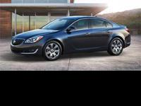 2016 Buick Regal Turbo! Featuring a 2.0L 4 cyls and