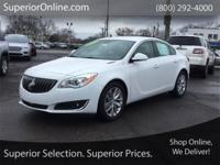 Clean CARFAX. Summit White 2016 Buick Regal Premium 2