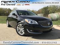 Options:  2016 Buick Regal Turbo Premium Ii|Black