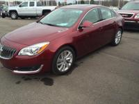 2016 Buick Regal Premium 2 in Crimson Red. 6-Speed